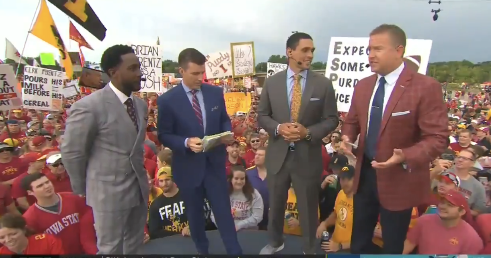 Herbstreit says LSU takes tailgating to another level
