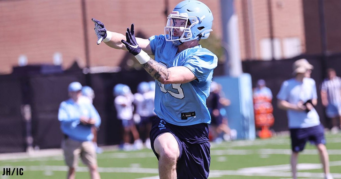 UNC's Wide Receivers Remain a Work in Progress
