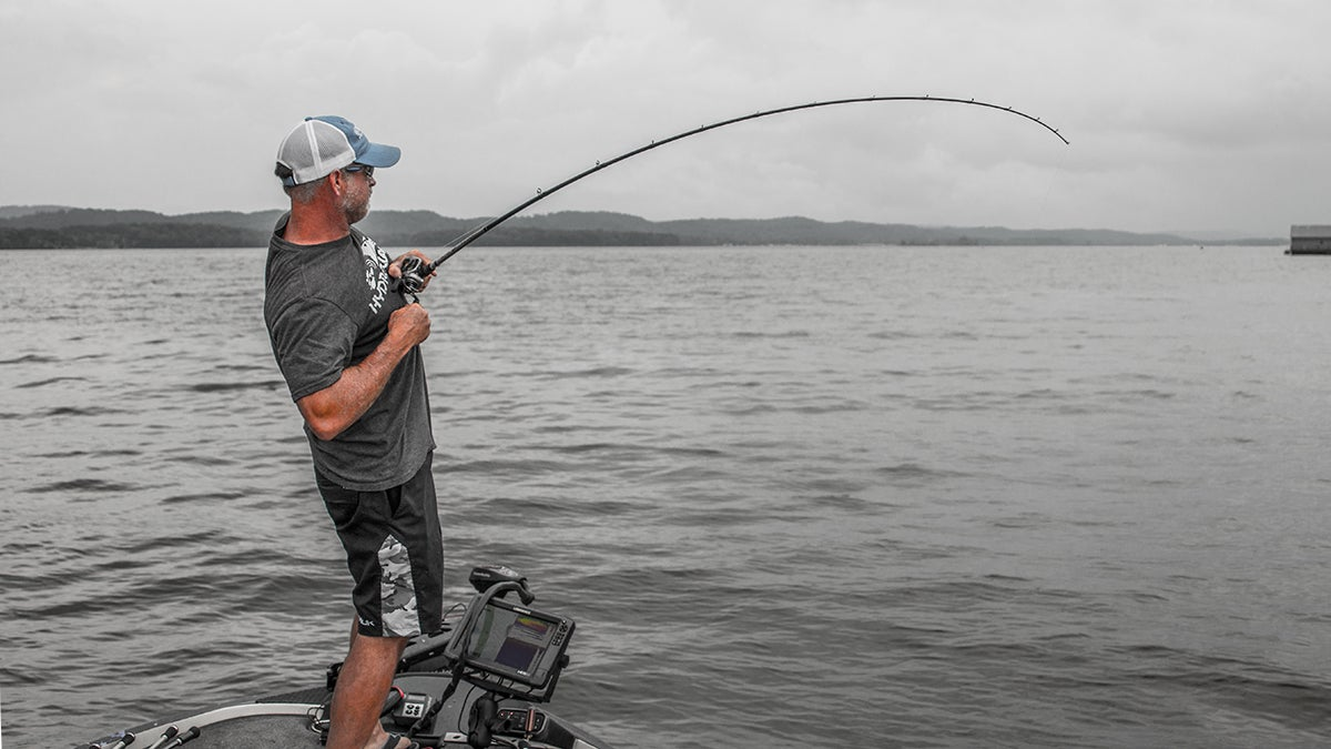 Introducing the double spoon rig for bass fishing for Wired 2 fish