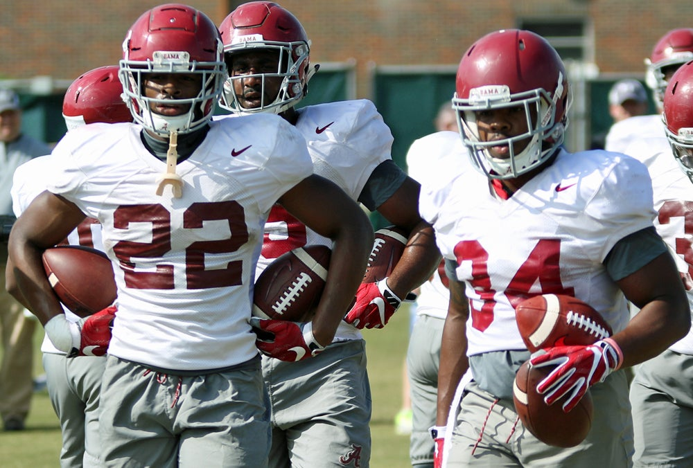Running back 'probably is the strength' of Alabama's offense