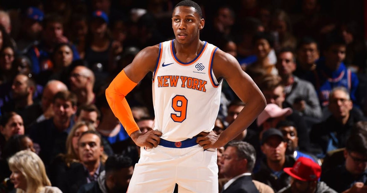 Fizdale: RJ Barrett will spend time at point guard