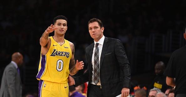 82b5e645d424d Los Angeles Lakers coach explains how Kyle Kuzma will have to adjust ...