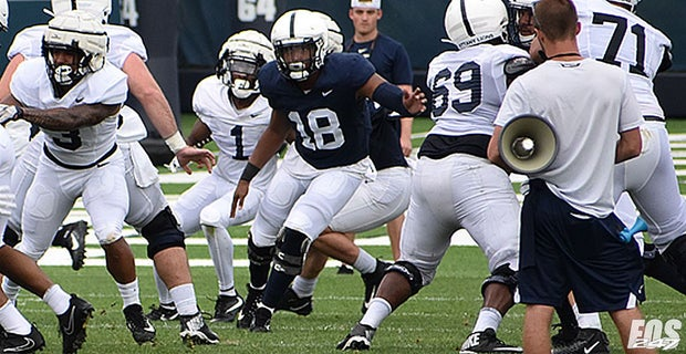 PHOTOS: Penn State practice action: Parsons, Oweh, Clifford