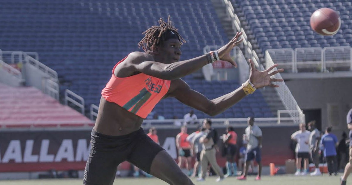Top50 WR set to narrow list as commit date approaches