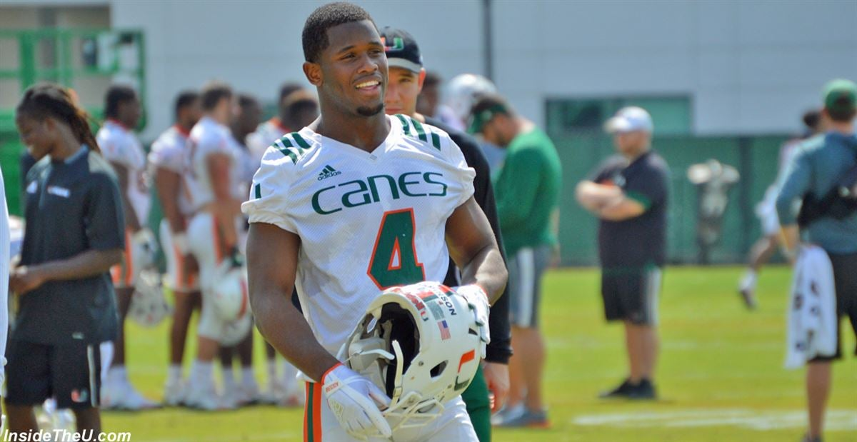 a69d96572 Miami s Depth Chart On The First Day Of Fall Camp