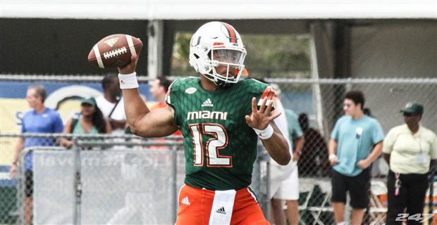 62bdd8452 Miami s Two-Deep Depth Chart At The Start of Fall Camp
