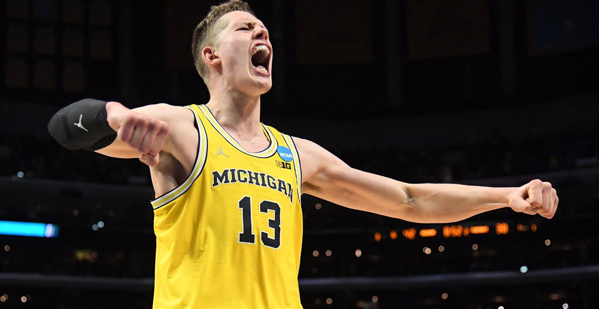 40d1f63af 2018 NBA Draft  Moritz Wagner drafted No. 25 overall by Lakers