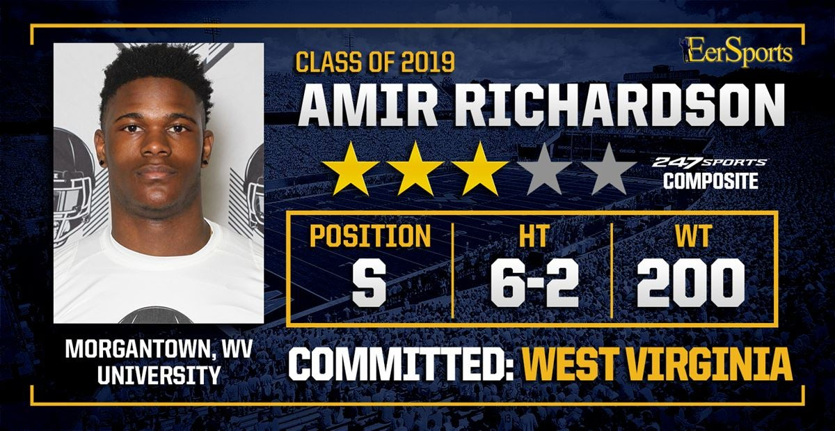 WVU gets legacy commitment from Amir Richardson