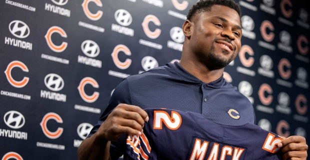 innovative design d0d78 3cd1d Raiders could have signed Khalil Mack to cheaper deal than Bears