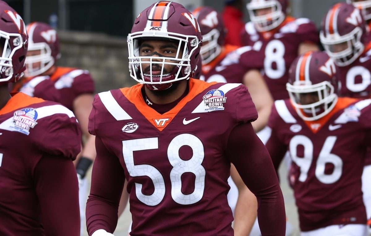 Virginia Tech DE Nathan Proctor Jr. enters the Transfer Portal