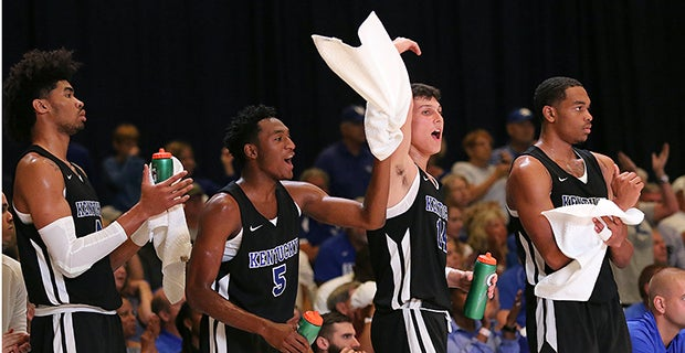 Two moments in Bahamas proving UK has heart of champion, too