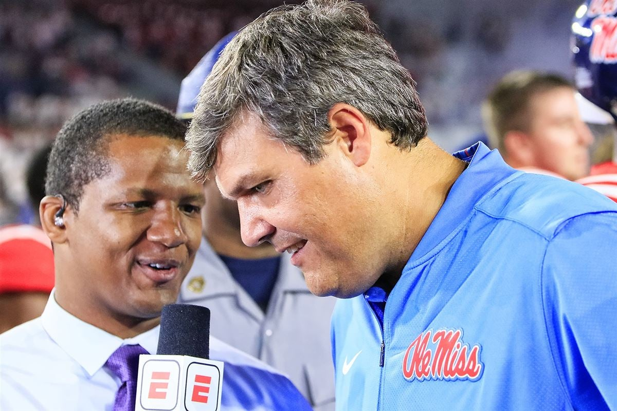 Ole Miss interim head coach Matt Luke discusses the Egg Bowl rivalry, Deontay Anderson, injuries and more.