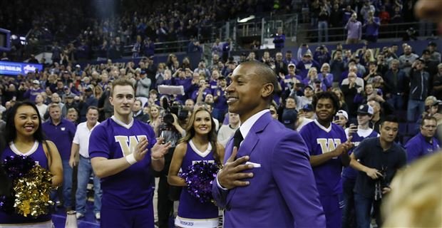 sports shoes bdc3f afe1b Twitter reacts to Isaiah Thomas's jersey retirement