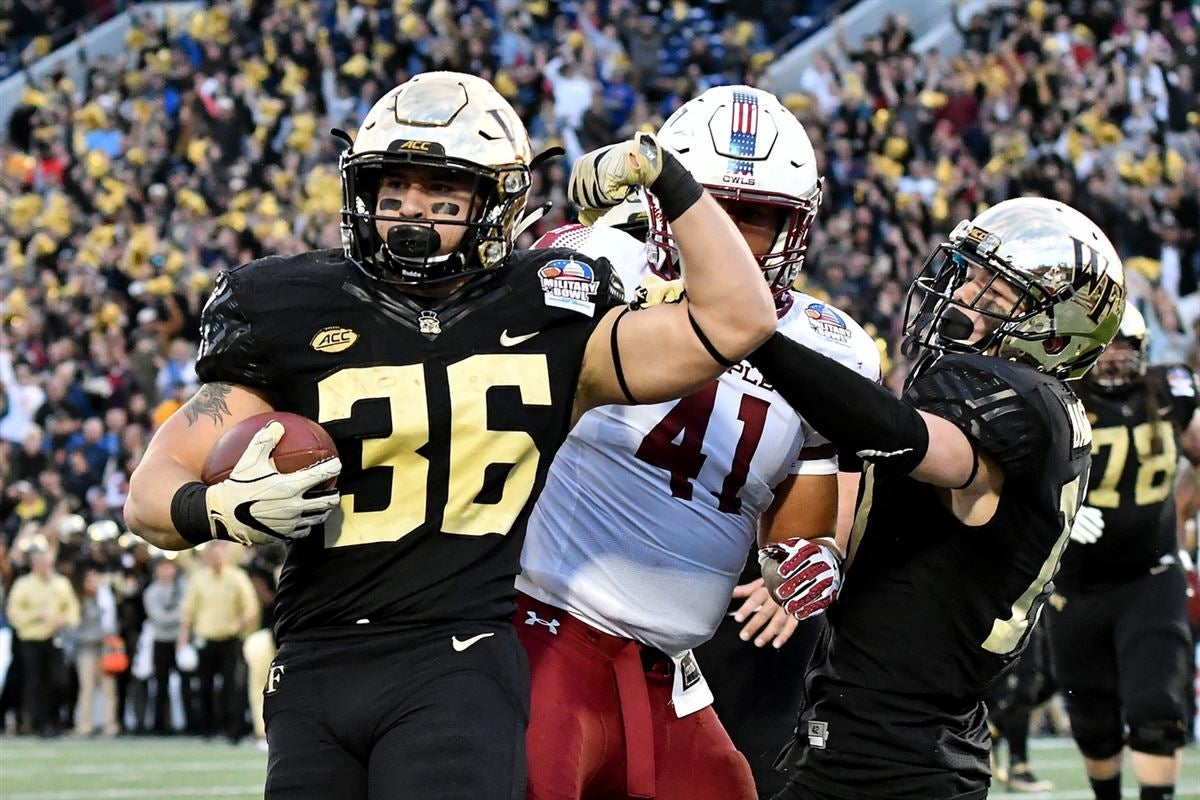 Carney pleased with progress of young Wake Forest running backs