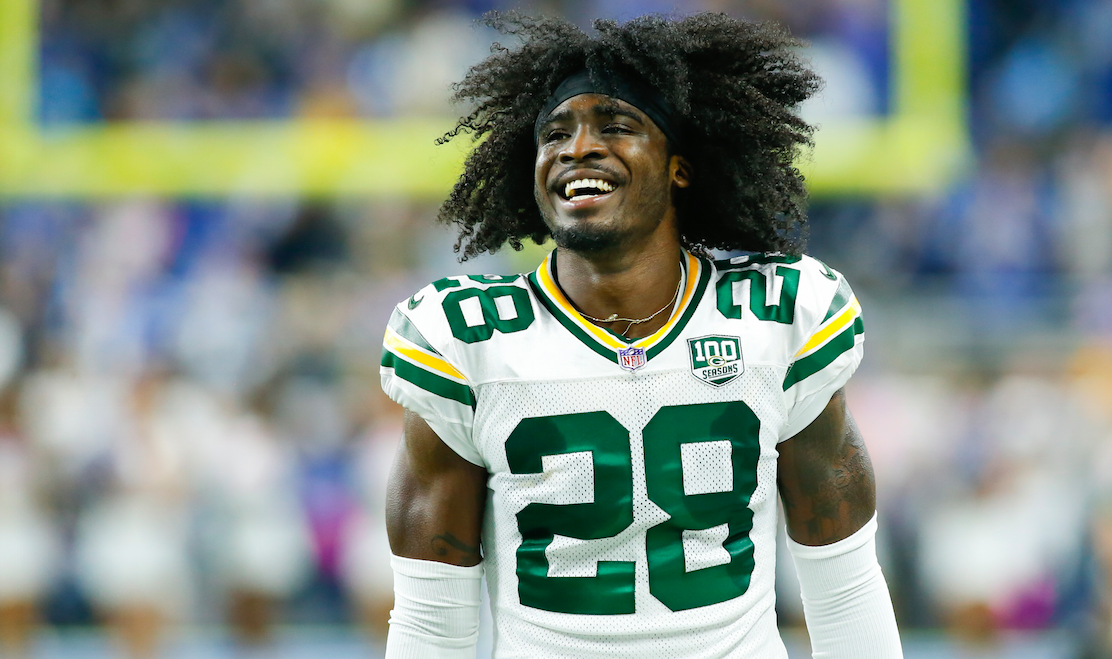 huge selection of 8f14b 9a9ae Aaron Rodgers gives Packers CB Tony Brown rave reviews