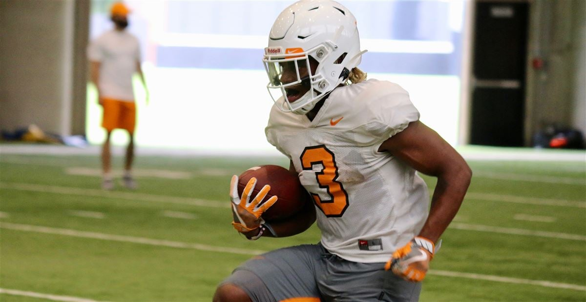 new arrival 413d5 539d2 Freshman RB having 'really good camp' for Vols