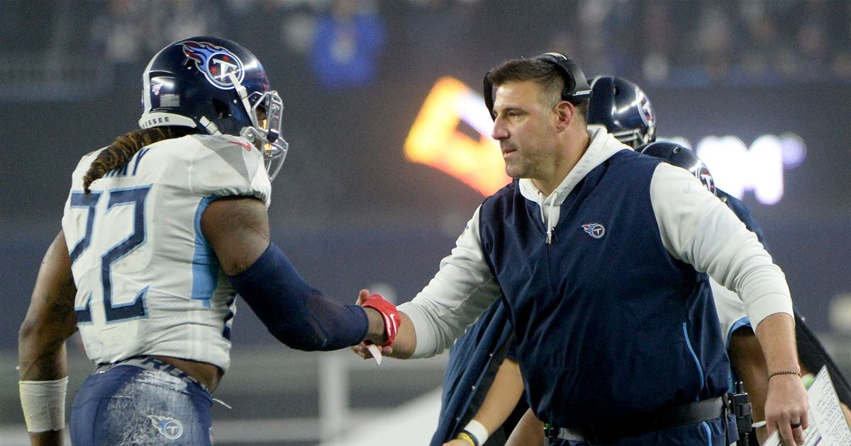 Mike Vrabel preaches patience in Derrick Henry contract talks