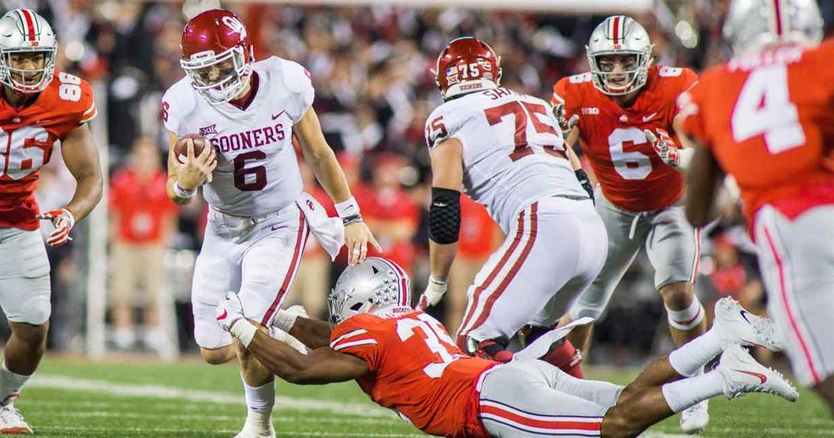 Baker Mayfield taunted Ohio State fans during second half
