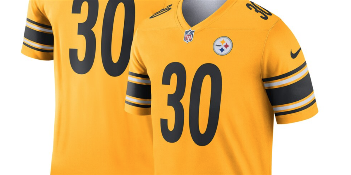 220e89eb New Steelers' James Conner inverted jersey already sold out
