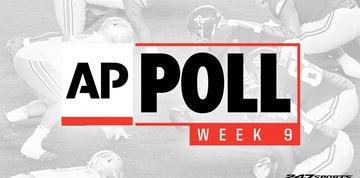 College football AP Top 25 rankings updated ahead of Week 9