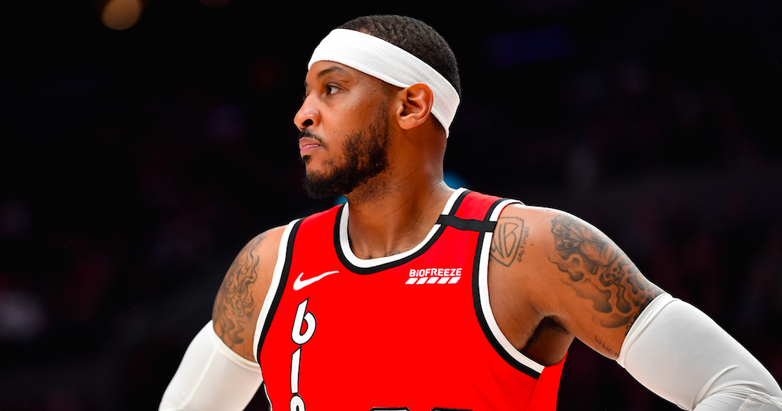 Carmelo Anthony says LeBron James once saved his life