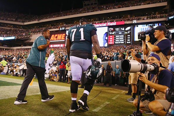 31baefd6136 Eagles give injury update on Jason Peters