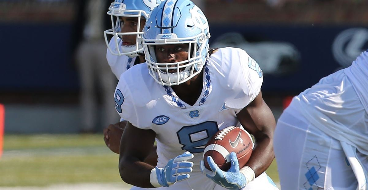 UNC RB Michael Carter Sidelined Due to Injury