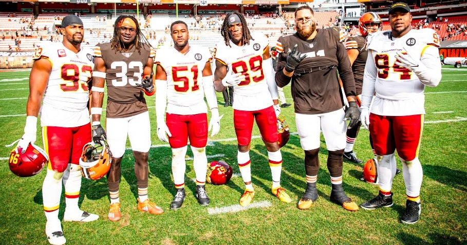 LOOK: Alabama alumni get together after Browns vs. Washington