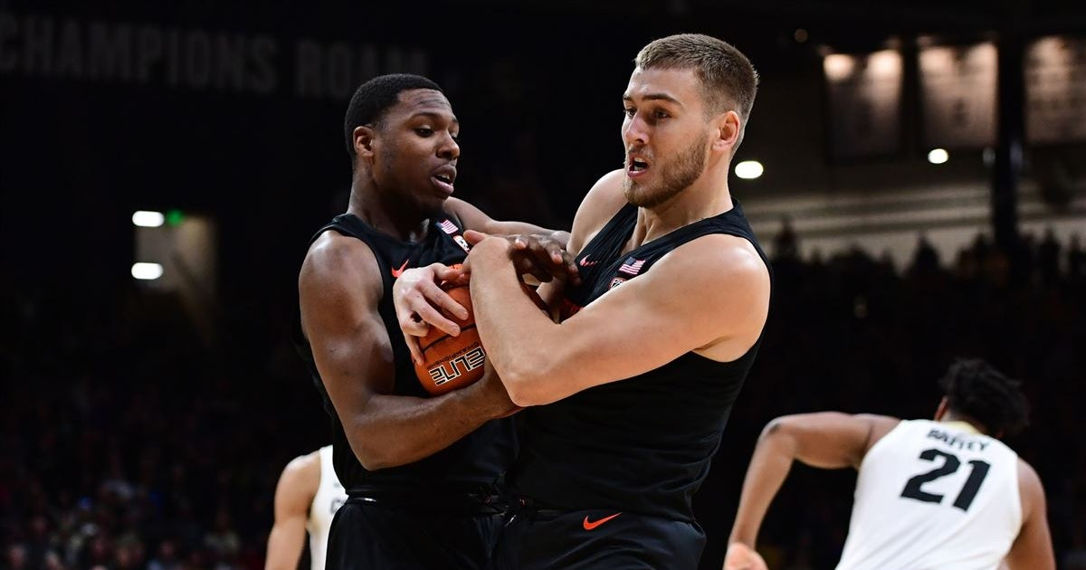 Cold Shooting Limits Beavers Against #16 Colorado