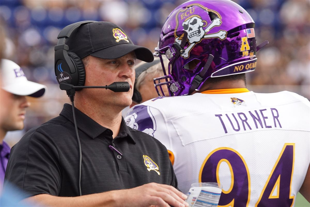 What Mike Houston said after ECU's 42-10 loss to Navy