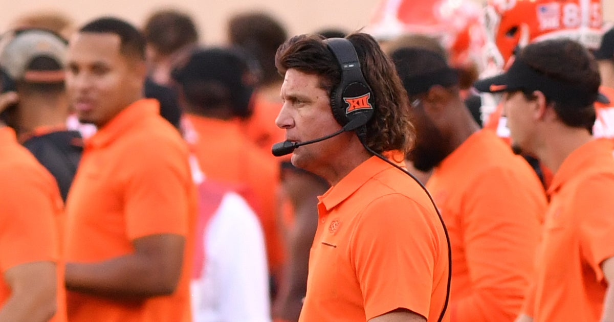 Oklahoma State's Mike Gundy rants about 'society' and adversity