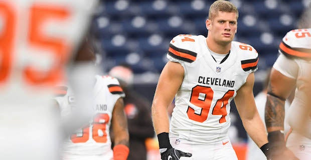 the best attitude 7f4b3 8ca1c Browns waive Jamie Meder, Carl Nassib in latest roster moves