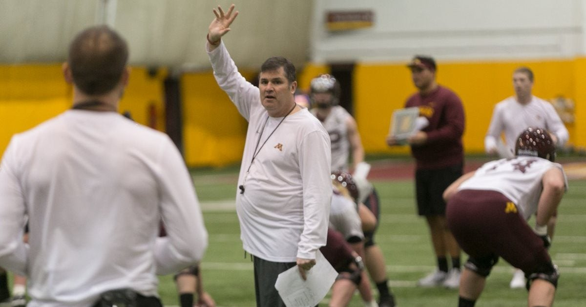 Gophers OC Kirk Ciarrocca on the Minnesota offense into Maryland