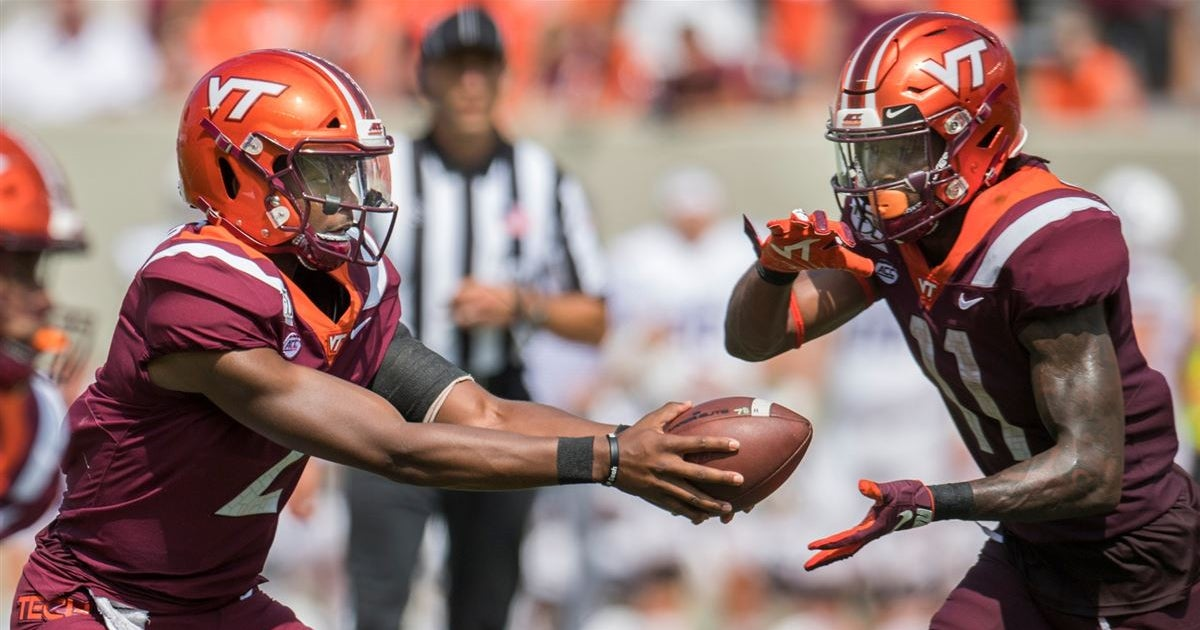 Hokies WR confirms QB change at Virginia Tech - 247Sports