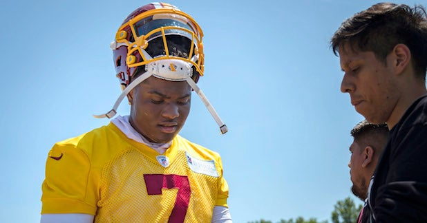 Hall of Fame QB offers encouragement to Dwayne Haskins