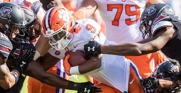 Travis Etienne becomes ACC career and rushing touchdown leader