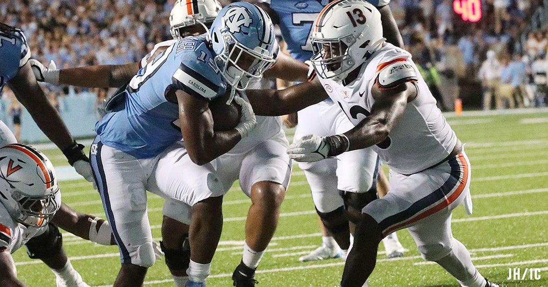 UNC Ground Game Silences Virginia's Toughness Talk