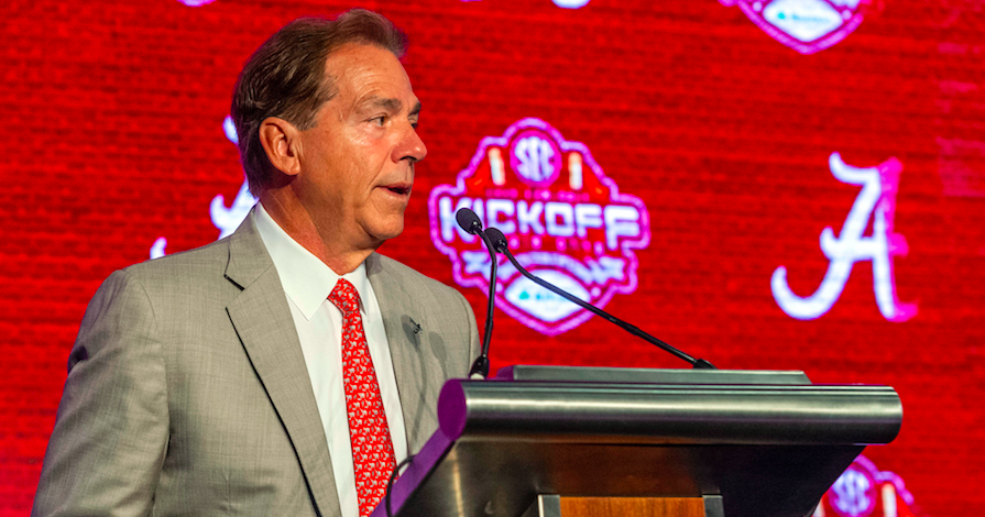 2020 SEC Media Days schedule released; Saban to speak Wednesday