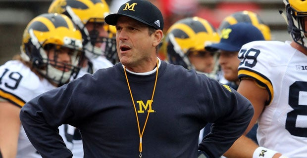 Jim Harbaugh: 'we could be ready to play a game' in two weeks