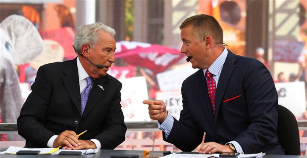college football on cbs espn college gameday picks today