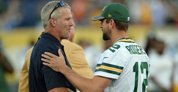 Aaron Rodgers, Brett Favre used to build perfect 'Madden' QB