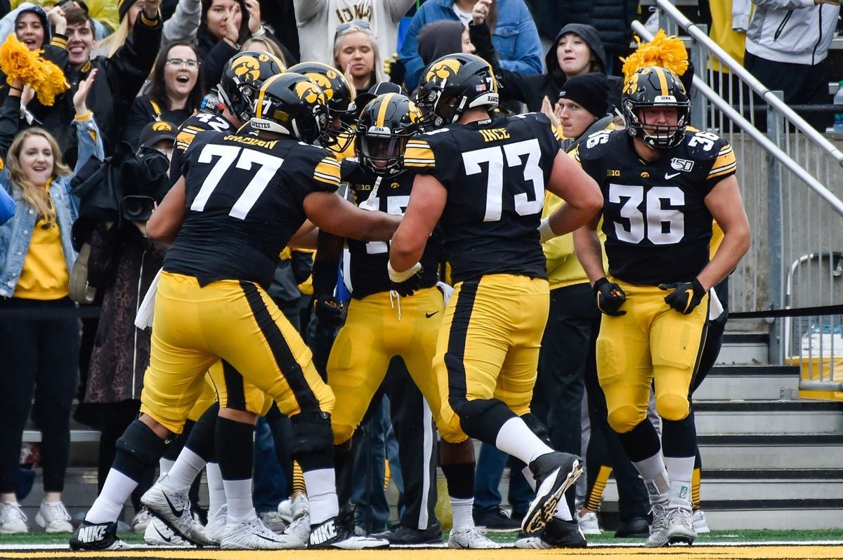 WATCH: Iowa RB Tyler Goodson scores first college touchdown