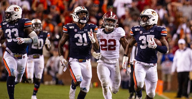 The 4th quarter and Iron Bowl victory goes to the Auburn ...