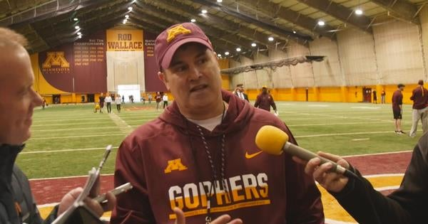 Gophers Kirk Ciarrocca breaks down the South Dakota State game