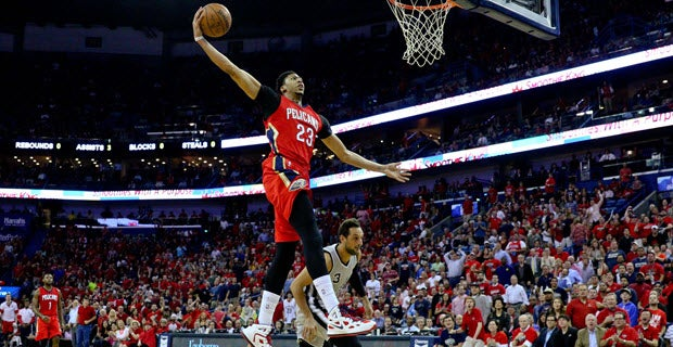 Image result for anthony davis dunk