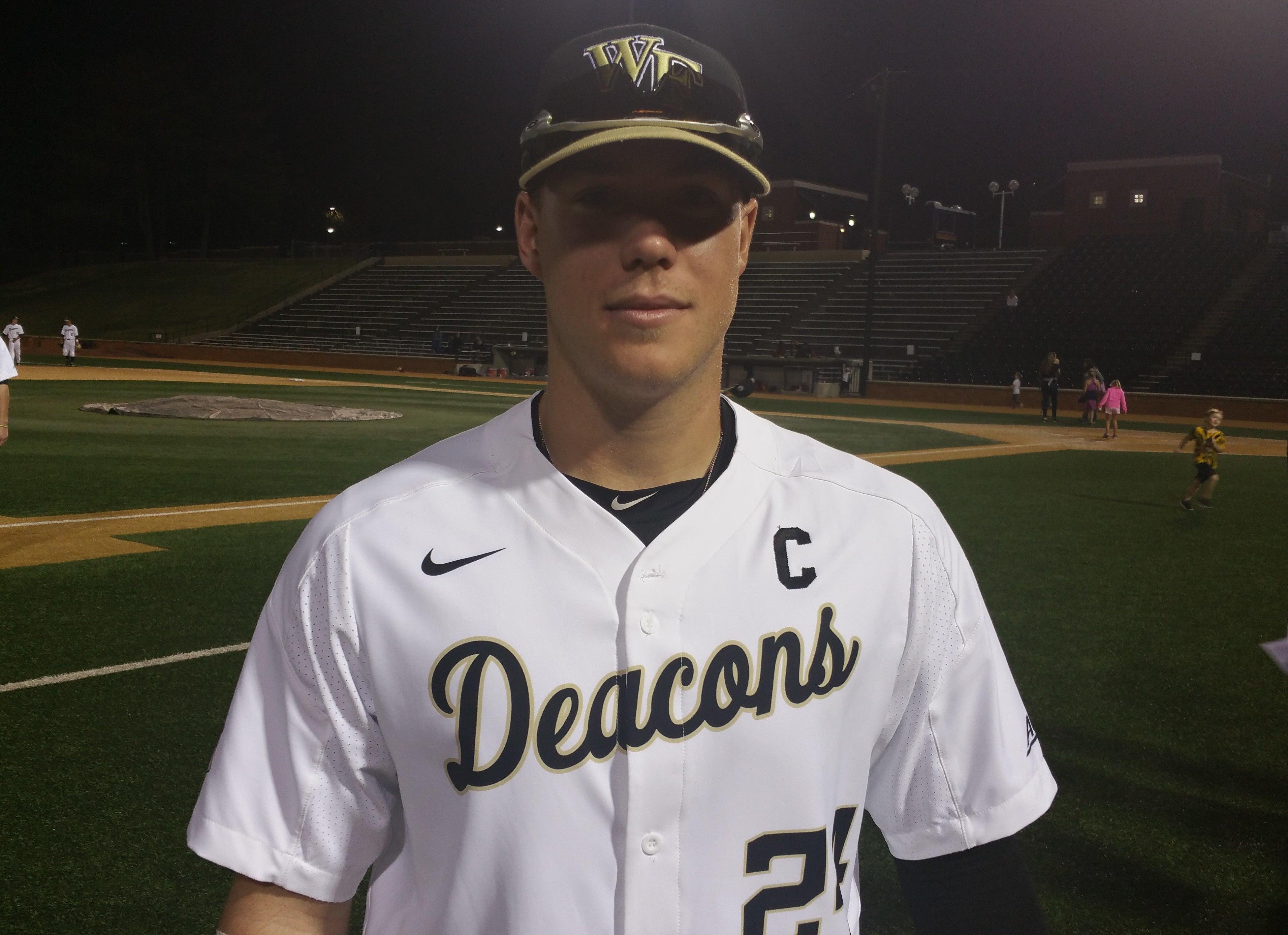 Wake Forest Baseball alum Gavin Sheets heating up for Dash