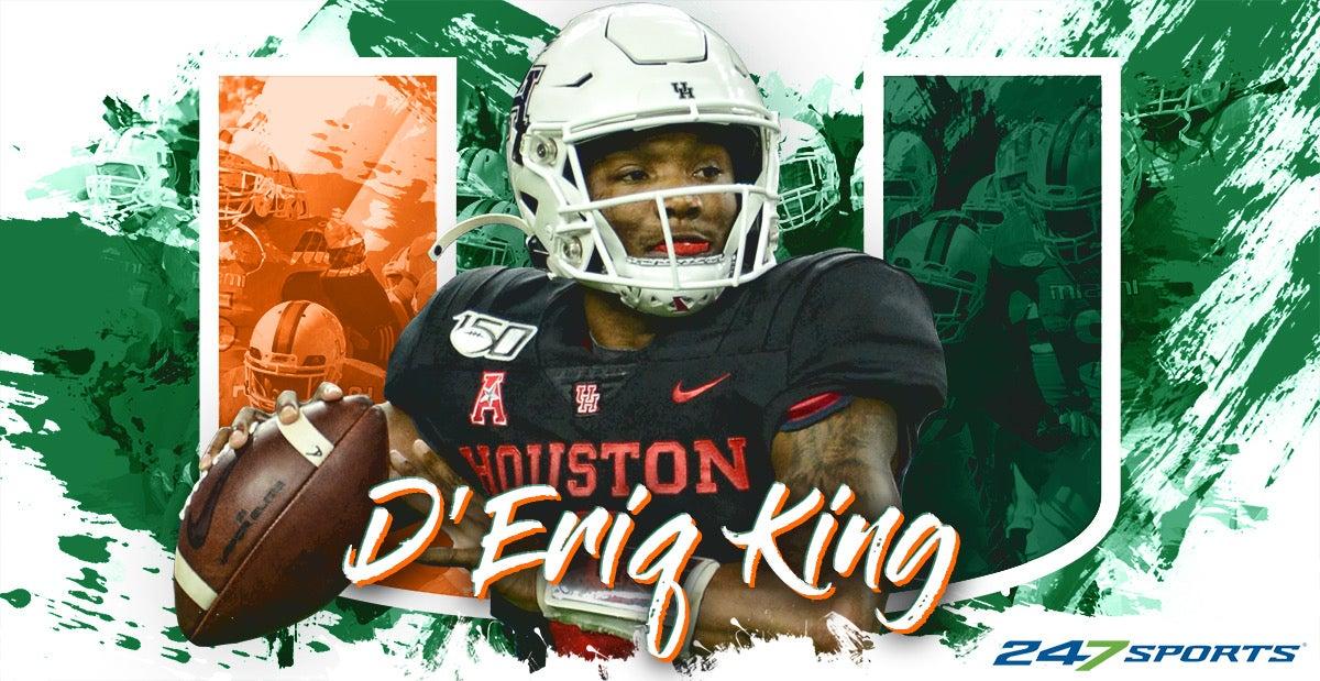 Miami lands Houston QB transfer D'Eriq King