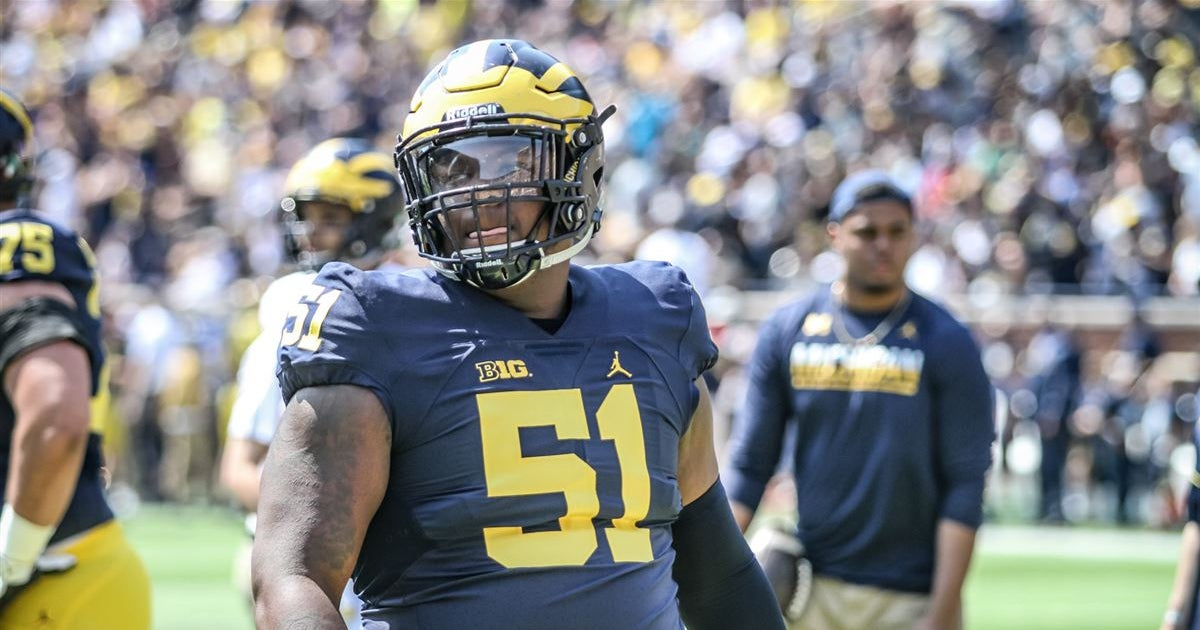 Michigan's Cesar Ruiz a 'day one starter,' says NFL analyst