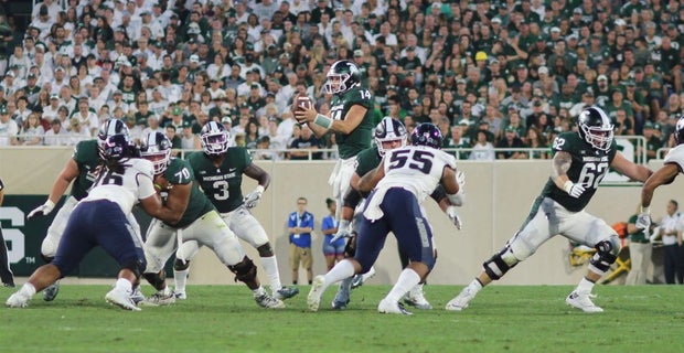 Analyzing Michigan State's red-zone offense through 2 games