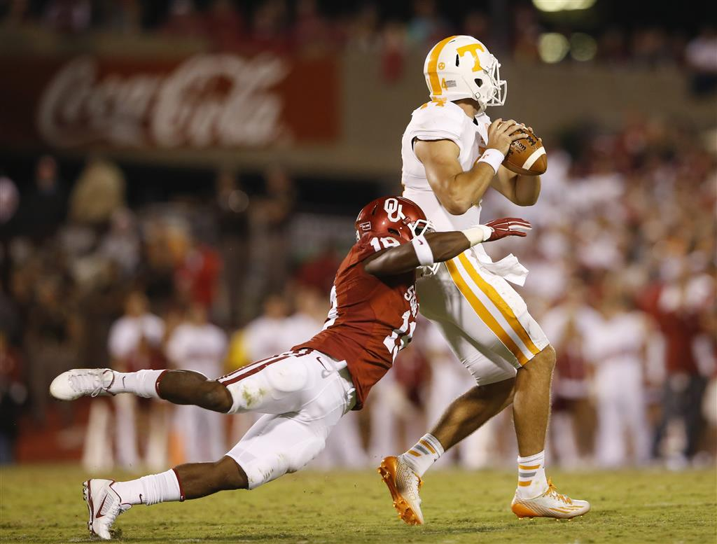 Oklahoma's Striker is 247Sports Defensive Player of the Week